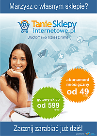 Tanie Sklepy Internetowe - gotowe sklepy internetowe i na abonament